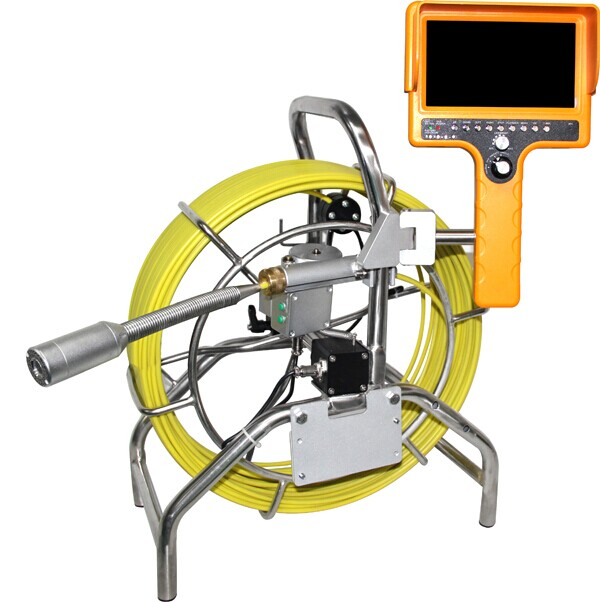 40mm self-level camera system for pipe inspection