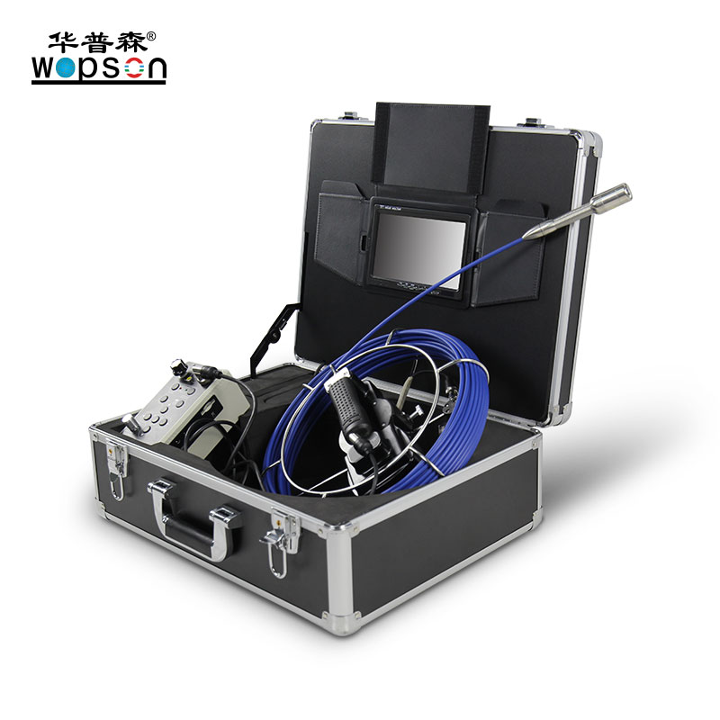 Push Rod Basic Sewer Inspection Camera with DVR
